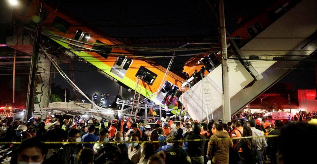 Aseguradora GNM evalúa daños tras colapso en la línea 12 del Metro