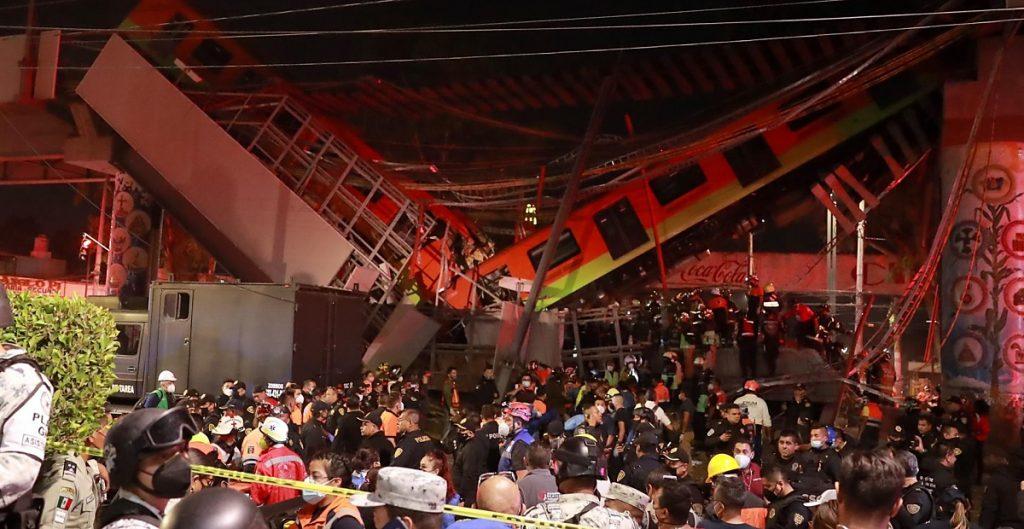 Segundo colapso de Línea 12 provoca pánico; hay riesgo de un tercer desplome: Protección Civil