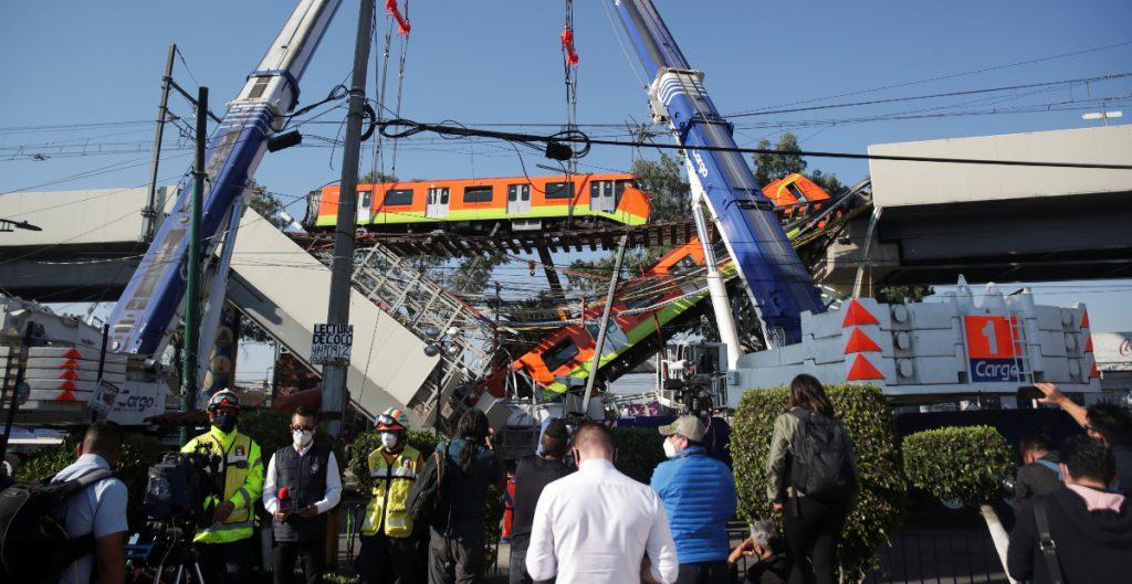 Suman __ muertos tras colapso de la Línea 12 del Metro en CDMX