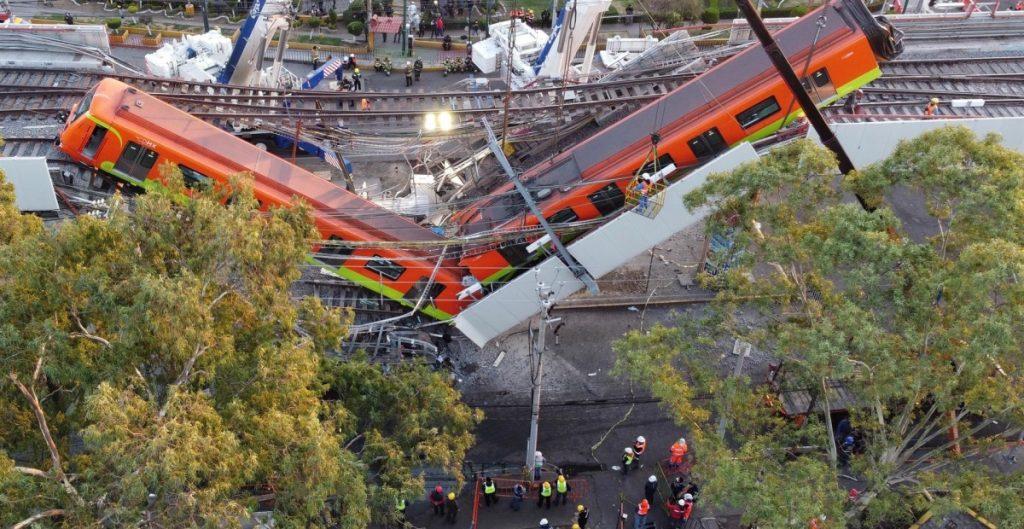 Comunidad internacional externa sus condolencias a México tras colapso en la línea 12 del Metro