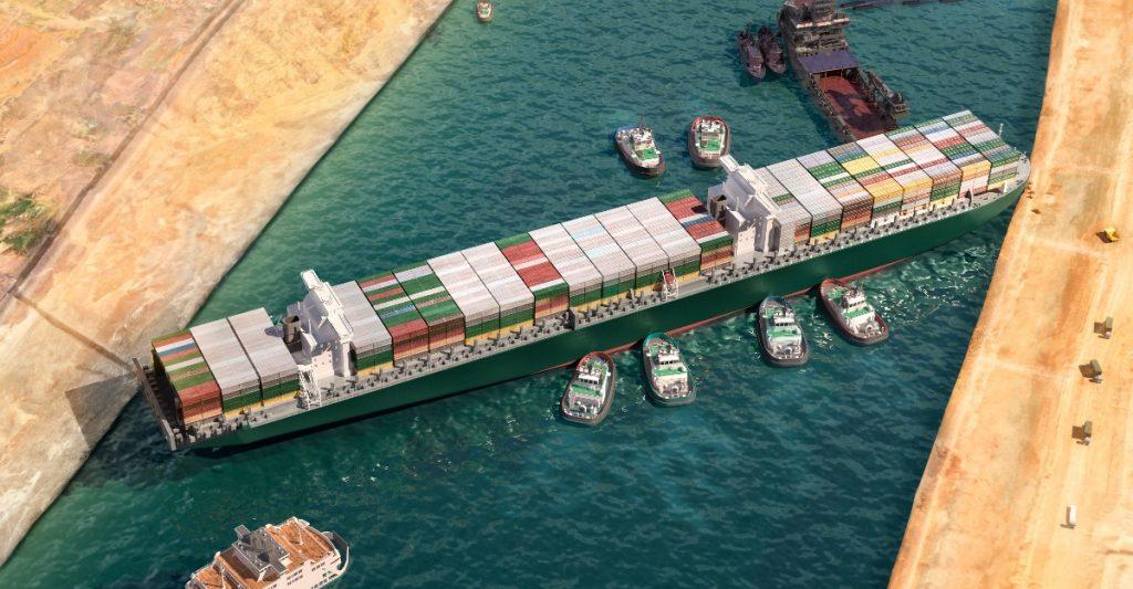 Tribunal en Egipto ratifica confiscación del Ever Given, el buque que bloqueó el Canal de Suez