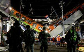 Declaran tres días de duelo nacional por víctimas de colapso en el Metro