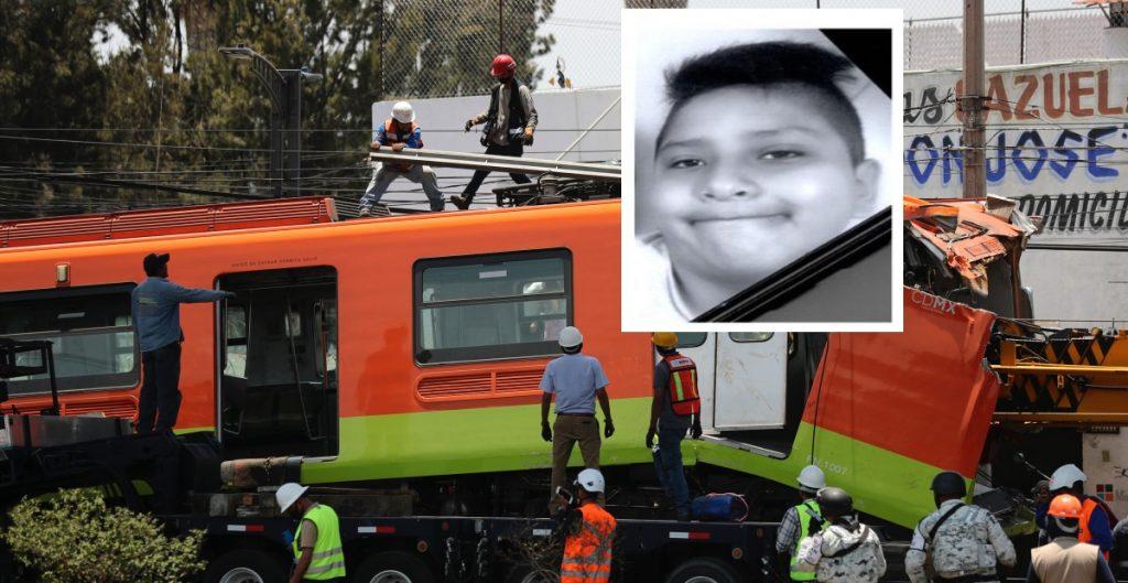 Emiten alerta Amber por Giovanny, el niño que viajaba en convoy que se desplomó en la Línea 12