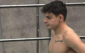 Rodrigo Diego López competirá en Tokio 2020 junto a Rommel Pacheco en trampolín 3 m. (Foto: Conade).