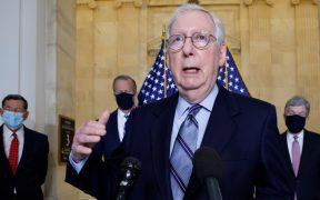 """McConnell amenaza con """"detener a la nueva administración""""; Biden asegura que ya lo ha intentado"""