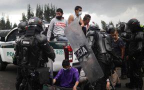Protestas en Colombia dejan 27 muertos y 359 desparecidos, señala órgano de Derechos Humanos