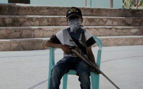 """""""El gobierno no nos ha hecho caso"""": niños armados de la montaña baja de Guerrero"""