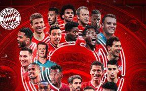 El Bayern pudo festejar anticipadamente el su noveno título consecutivo de la Bundesliga. (Foto: @FCBayern).