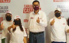 Candidata de RSP a la alcaldía de Coyoacán se une a abanderado de Morena