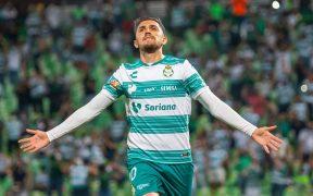 Diego Valdés celebra su gol ante Gallos. (Foto: Mexsport).