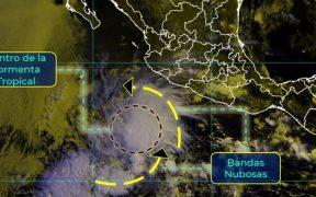 Se forma la tormenta tropical 'Andrés', al suroeste de las costas de Michoacán; la primera del año