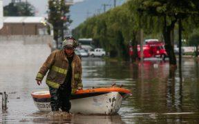 Severas lluvias y granizo causan afectaciones en Toluca y Metepec en el Edomex