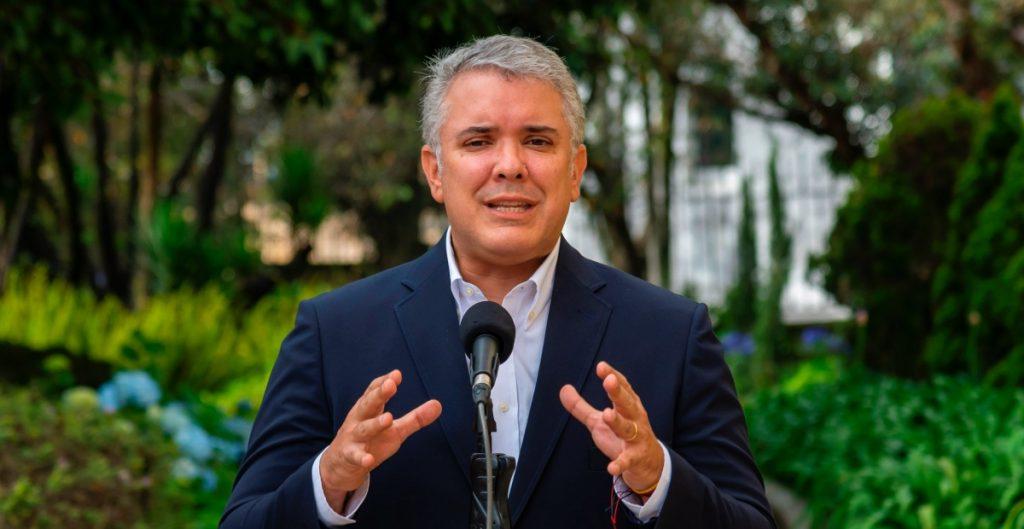 """Iván Duque atribuye protestas y conflictos en Colombia a """"problemas que trajo la pandemia"""""""