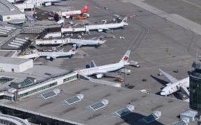 Asesinan a tiros a una persona en aeropuerto de Vancouver, Canadá