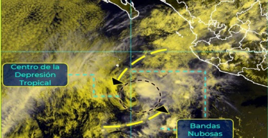 Tormenta 'Andrés' se degrada a depresión tropical; persistirán lluvias fuertes en el occidente del país