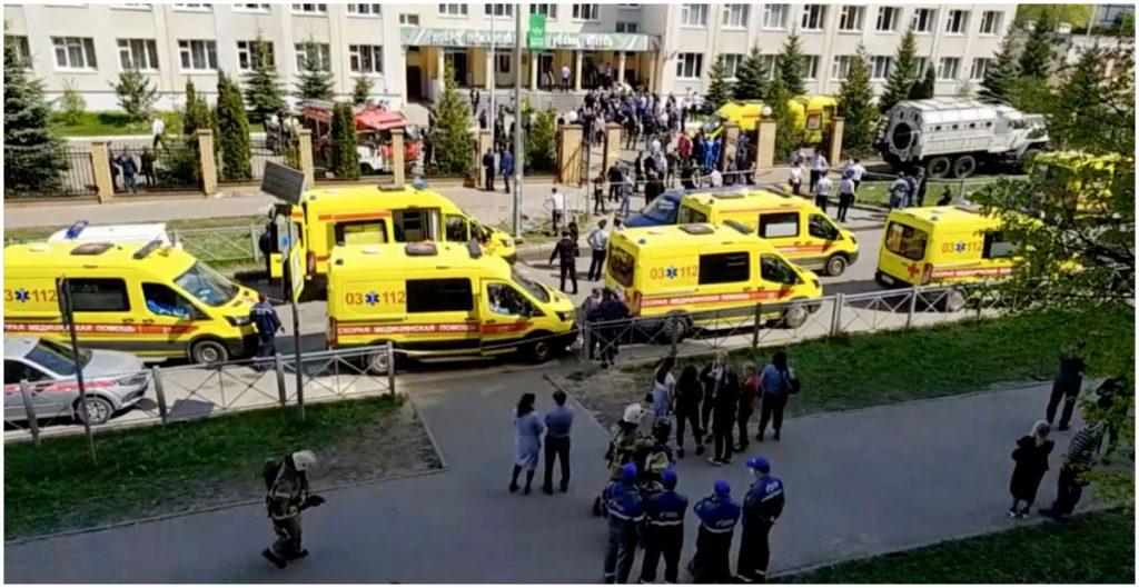 Tiroteo en escuela de Rusia deja nueve muertos; arrestan al sospechoso