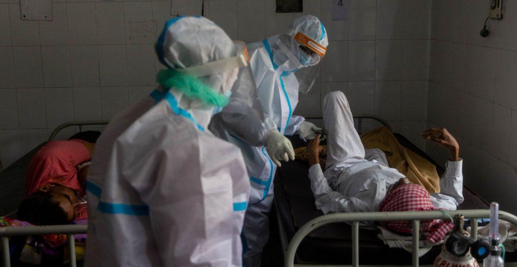 India detecta un aumento de casos por un hongo letal en pacientes Covid