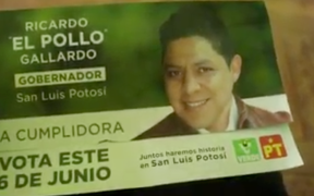 PAN en SLP denuncia a candidato del PVEM a la gubernatura por entrega de tarjetas
