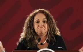 CNDH pide a la Segob medidas de protección para Sanjuana Martínez, directora de Notimex