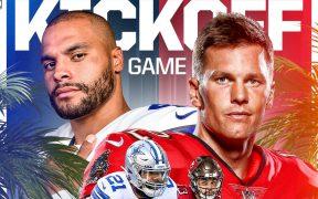 Prescott y Brady abren el telón en la NFL. (Foto: @NFL).