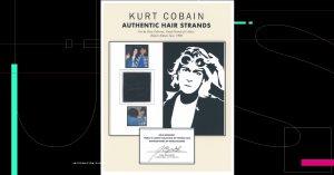 Cabello de Kurt Cobain, guitarras de Erick Clapton y autógrafos de The Beatles, son parte de una subasta en línea