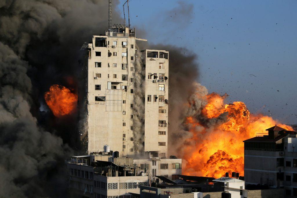 bombardeo-gaza-israel-reuters