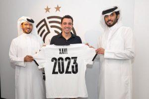 El Al Sadd anunció la renovación de Xavi, quien seguirá dos temporadas más en Qatar. (Foto: @AlsaddSC).