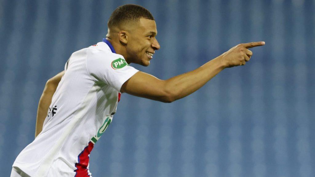Mbappé reapareció con el PSG y marcó un doblete. (Foto: Reuters).