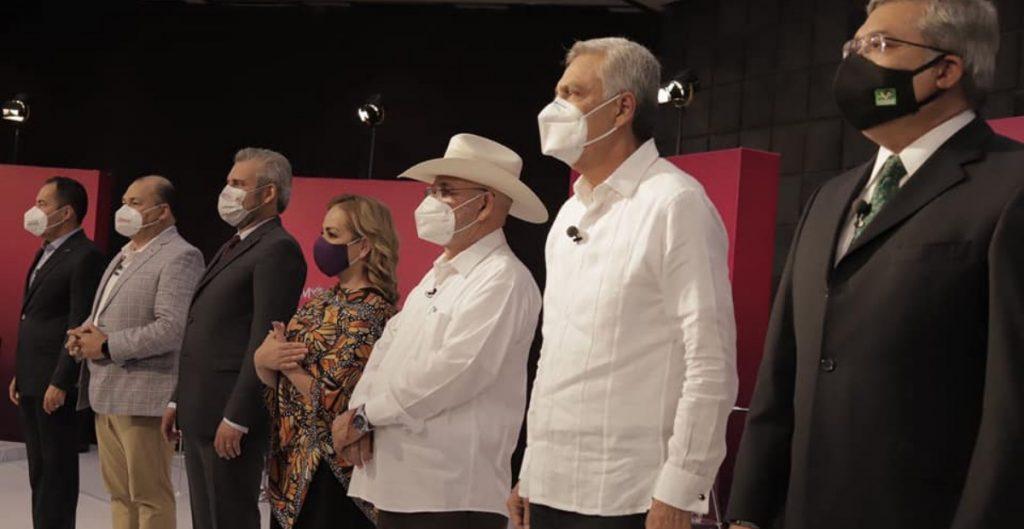 La inseguridad provocada por el narcotráfico es el principal problema de Michoacán, admiten candidatos en segundo debate