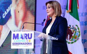 Maru Campos mantiene su candidatura en Chihuahua por el PAN-PRD tras acusaciones por corrupción