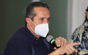 """Quintana Roo, en """"riesgo inminente"""" de cuarentena: Carlos Joaquín"""