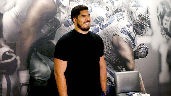 Alarcón confía en aprovechar el minicampamento de novatos para ganarse un lugar en los Cowboys. (Foto: @SomosCowboys).