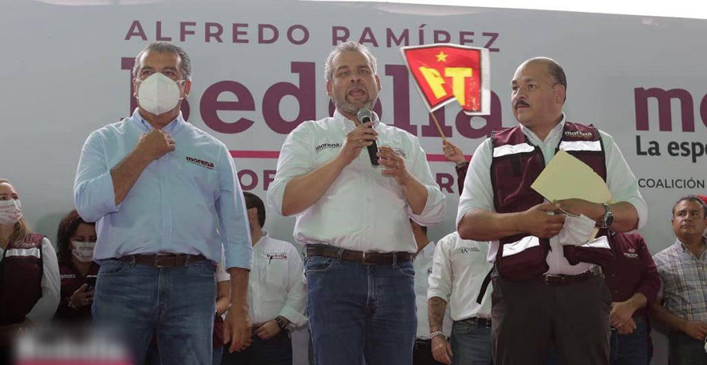 Aspirante de RSP declina a favor de Alfredo Ramírez Bedolla, candidato de Morena en Michoacán