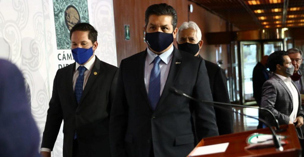 Francisco García Cabeza de Vaca, gobernador de Tamaulipas