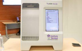 INE utilizará 100 urnas electrónicas en elecciones de Jalisco y Coahuila