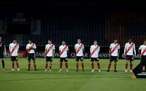 River Plate, antes de un partido en la Libertadores. (Foto: Reuters).