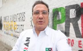 Candidato del PRI en Ecatepec denuncia vandalización de propaganda