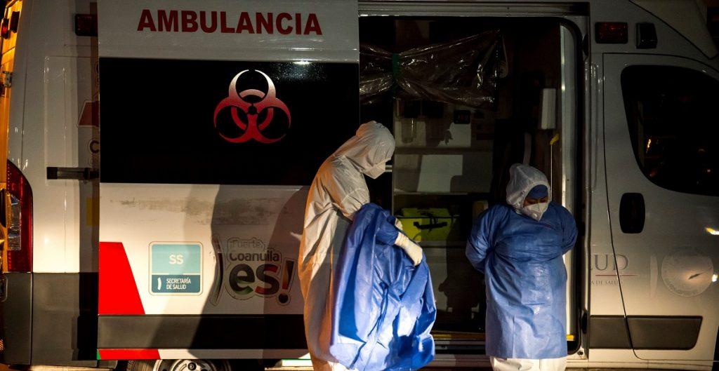 Registra México 2 millones 380 mil contagios de Covid-19
