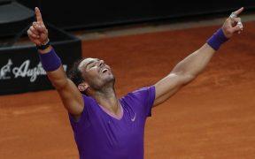 Nadal conquista su décimo título del Masters de Roma. (Foto: Reuters).