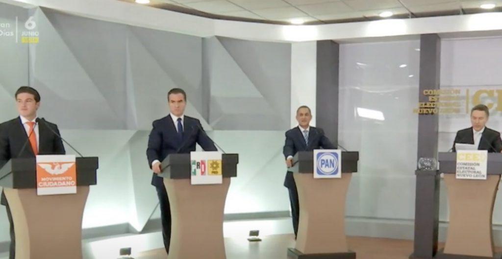 De la Garza y Samuel García responden a AMLO en debate en Nuevo León tras investigaciones en su contra de la FGR
