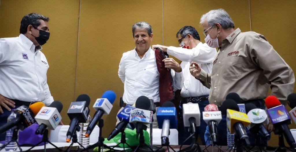Candidato a la gubernatura de Sinaloa por el PVEM declina a favor de Rubén Rocha, de Morena