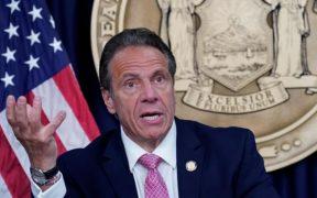 Personas vacunadas de Nueva York dejarán de usar cubrebocas, anunció Andrew Cuomo