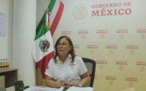 INE ordena a Rocío Nahle eliminar publicaciones que violan veda electoral