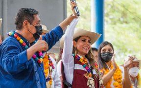 Evelyn Salgado ha gastado 83 mil pesos en sólo dos semanas de su campaña en Guerrero