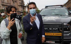 Alfredo Ramírez Bedolla presenta denuncias contra Silvano Aureoles por amenazas y abuso de autoridad