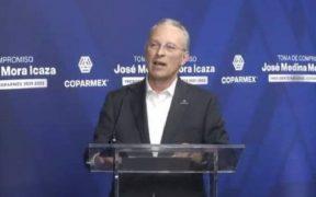 """Coparmex llama al gobierno a """"sacar las manos de la elección""""; pide que se respeten los resultados de los comicios"""