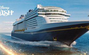 Disney Wish, el nuevo crucero de Disney que comenzará a navegar el 9 de junio; incluye una suite de lujo