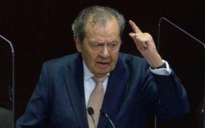 """""""La justicia se aplica, no se somete a opinión popular"""", critica Muñoz Ledo y tacha la consulta como un fracaso"""