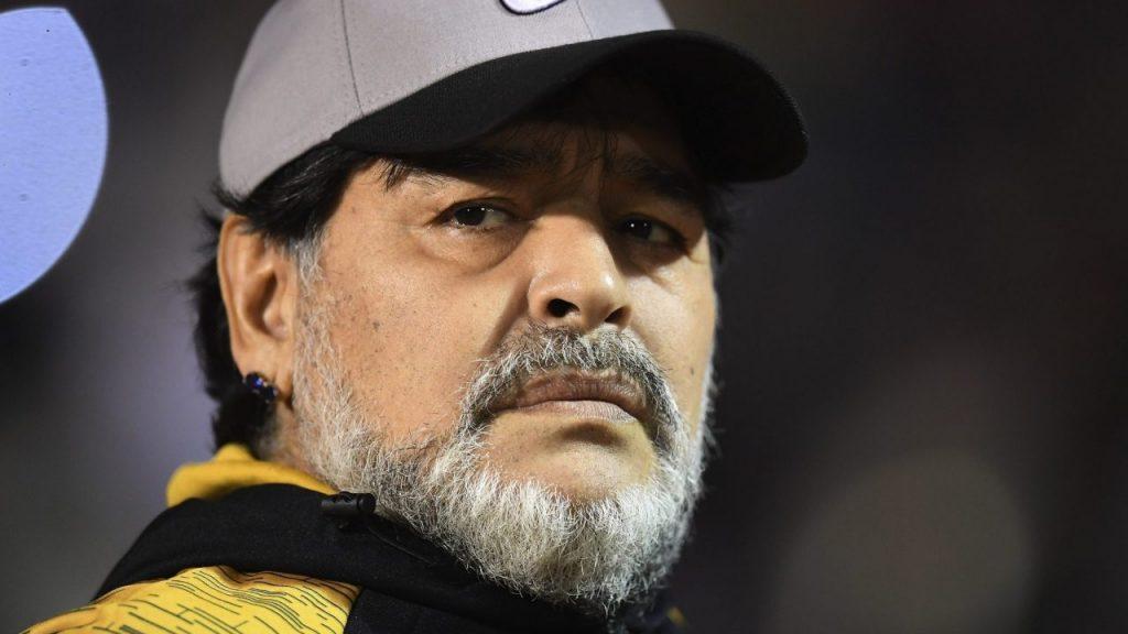 Maradona, en sus últimos días como técnico. (Foto: Mexsport).