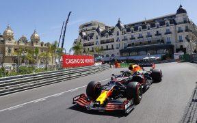 'Checo' Pérez dijo que disfrutó regresar al circuito de Montecarlo. (Foto: Reuters).